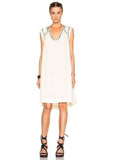 Isabel Marant Cazar Light Silk Bourette Dress