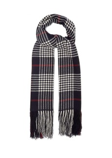 Isabel Marant Checked cashmere scarf