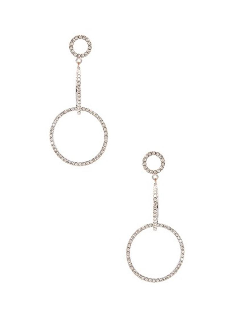 Isabel Marant Circle Drop Earrings