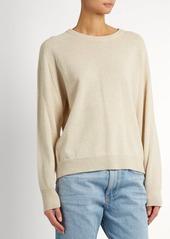 4433000972 Isabel Marant Isabel Marant Clash slit-back sweater