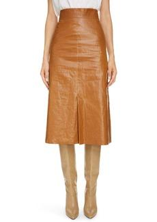 Isabel Marant Coated Linen Skirt