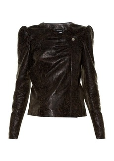 Isabel Marant Connie laser-cut leather jacket