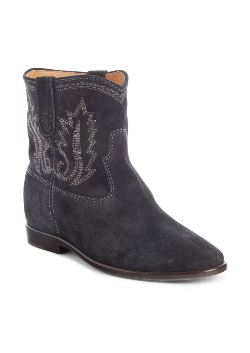 Isabel Marant Crisi Embroidered Western Bootie (Women)