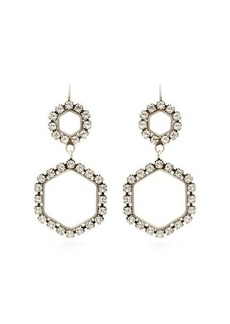 Isabel Marant Crystal-embellished drop earrings