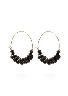 Isabel Marant Crystal-embellished hoop earrings