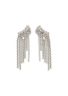Isabel Marant Crystal-fringed drop earrings