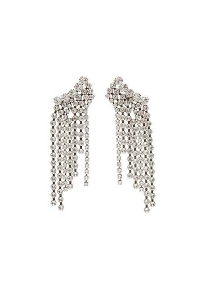 Isabel Marant Crystal-fringed earrings