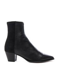 Isabel Marant Dabbs Velvet & Leather Boots