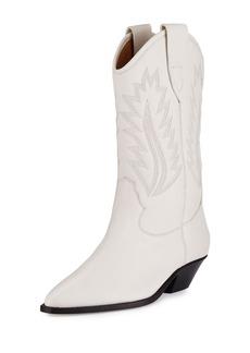 Isabel Marant Dallin Leather Western Boot