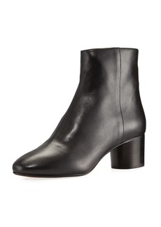 Isabel Marant Danay Leather 50mm Ankle Boot