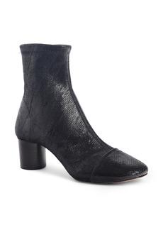 Isabel Marant Datsy Snake Embossed Sock Bootie (Women)