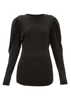 Isabel Marant Davallia wool-jersey top