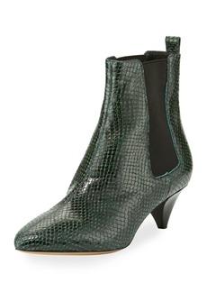 Isabel Marant Dawell Low-Heel Chelsea Boots
