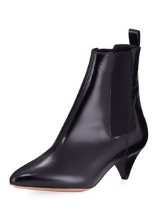 Isabel Marant Dawell Low-Heel Leather Boot