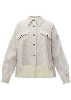 Isabel Marant Dennao point-collar wool shirt