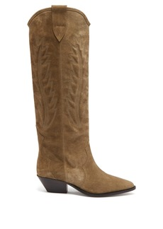 Isabel Marant Denzy suede knee-high boots