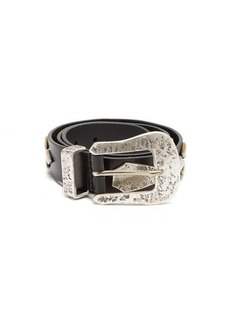 Isabel Marant Dern studded leather belt
