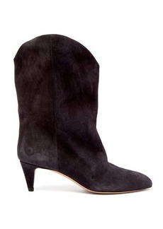 Isabel Marant Dernee leather ankle boots