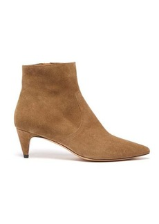 Isabel Marant Derst point-toe suede ankle boots