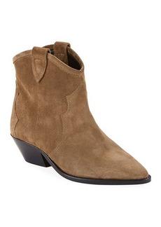 Isabel Marant Dewina Ankle Cowboy Bootie