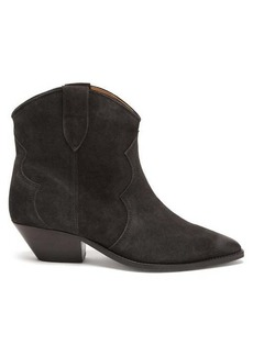 Isabel Marant Dewina Western suede ankle boots