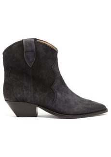 Isabel Marant Dewina Western suede boots