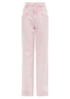 Isabel Marant Dilesqui high-rise wide-leg jeans