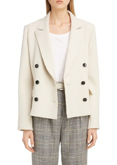 Isabel Marant Double Breasted Bouclé Wool Jacket