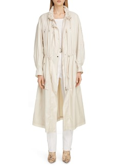 Isabel Marant Drawcord Detail Trench Coat