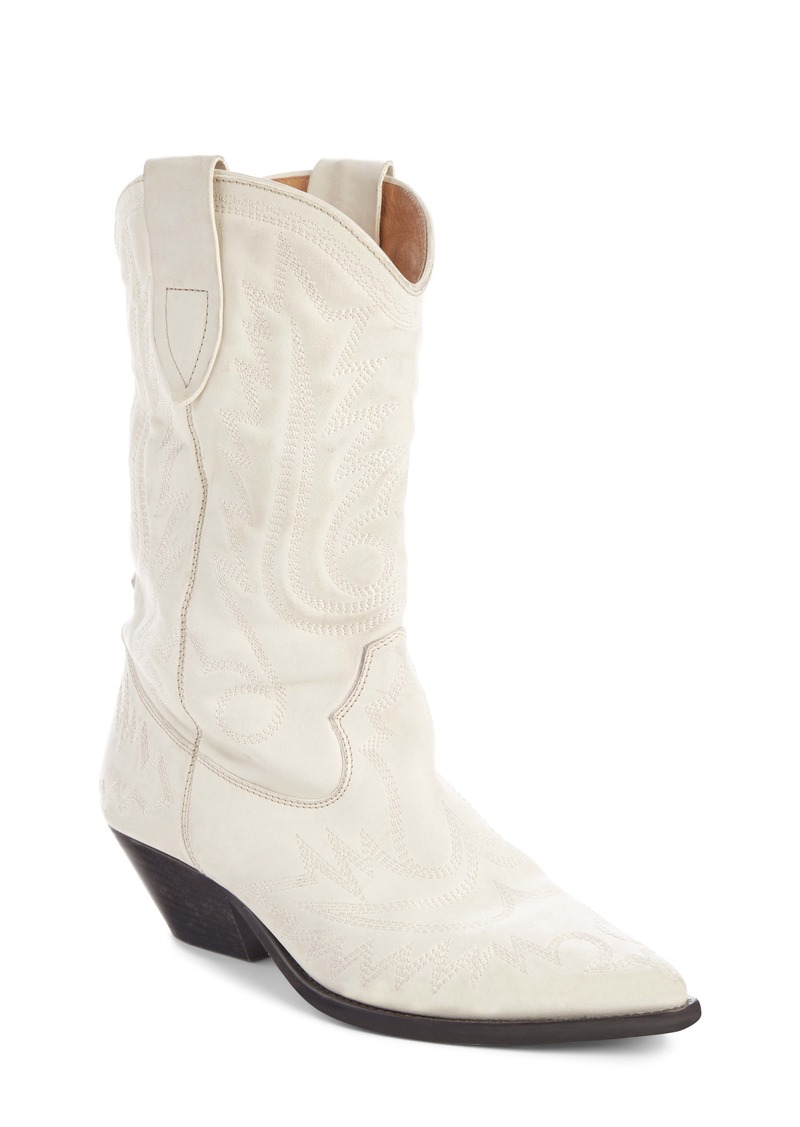 Isabel Marant Duerto Western Embroidered Boot (Women)