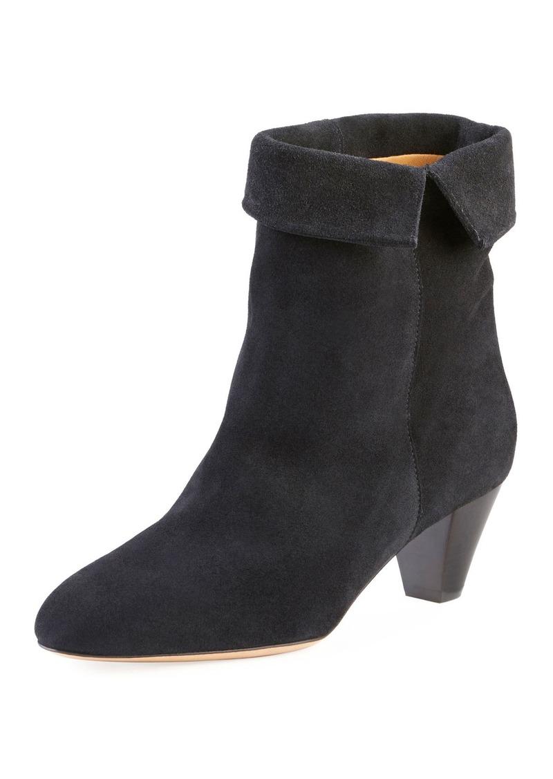 profiter de gros rabais haut de gamme authentique en gros SALE! Isabel Marant Isabel Marant Dyna Cuffed Suede Ankle Boot