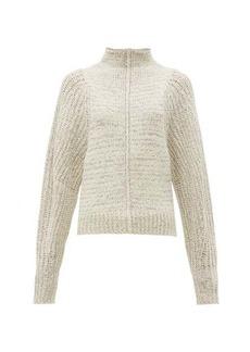 Isabel Marant Edilon high-neck wool-blend sweater