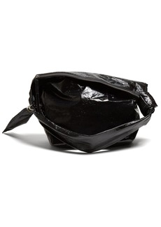 Isabel Marant Eewa patent-leather shoulder bag