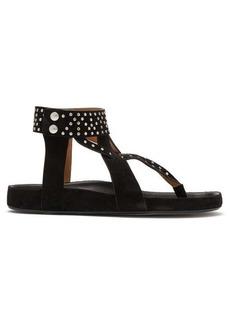 Isabel Marant Ellan studded suede sandals