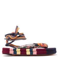 Isabel Marant Elliam ankle-tie sandals