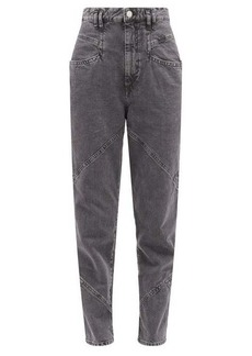 Isabel Marant Eloisa high-rise tapered jeans