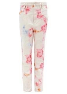 Isabel Marant Eloisa high-rise tie-dye jeans