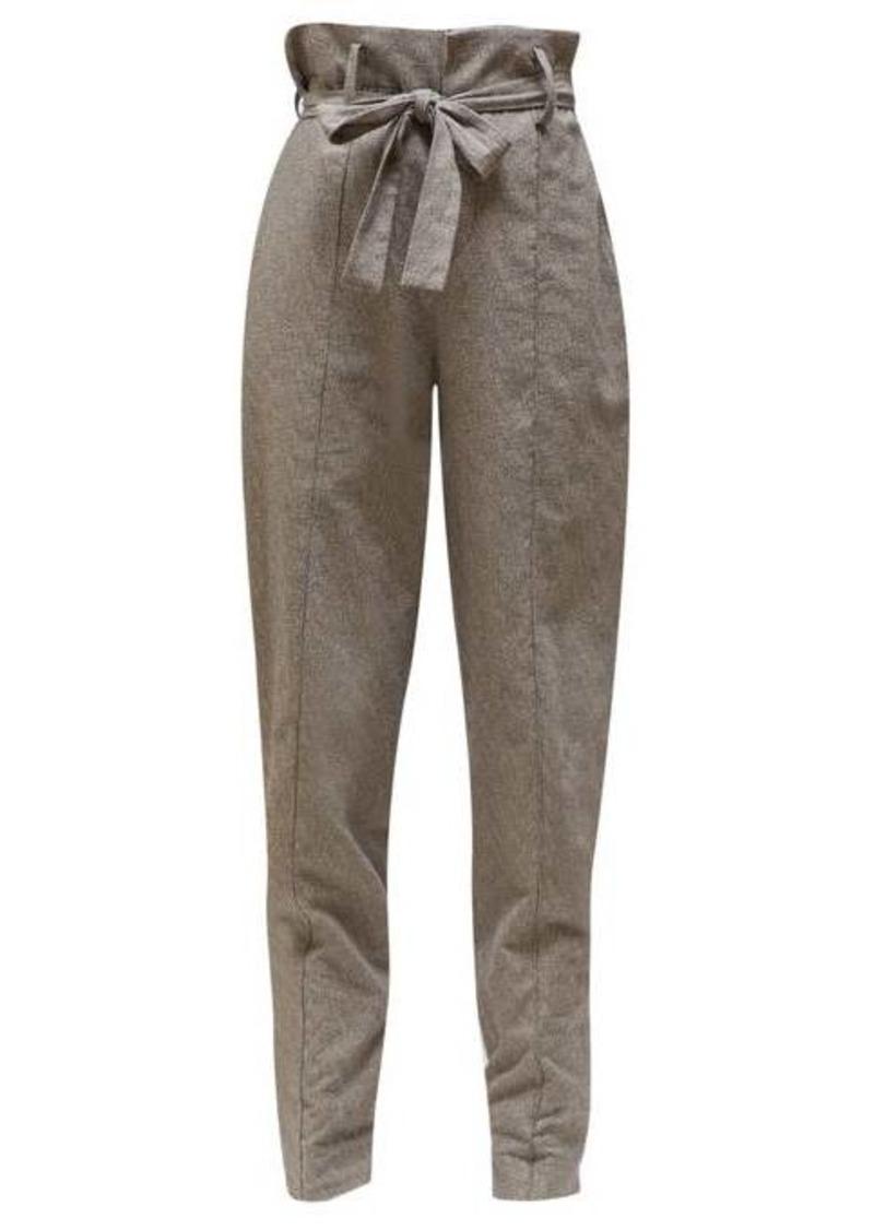 Isabel Marant Emilia paperbag-waist trousers