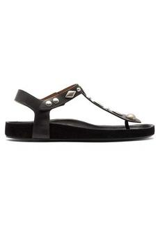 Isabel Marant Enorie studded leather sandals