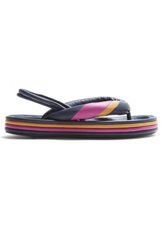 Isabel Marant Etanee tri-colour flatform sandals