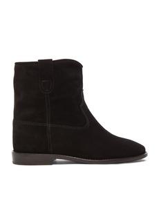 Isabel Marant Etoile Crisi Calfskin Velvet Boots