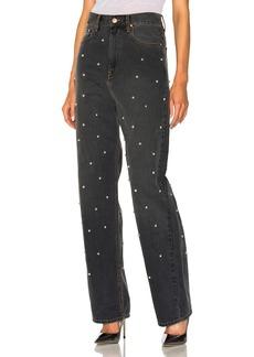 Isabel Marant Etoile Curt Fancy Studded Boyfriend Jeans