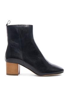 Isabel Marant Etoile Deyis Leather Baby Jane Boots