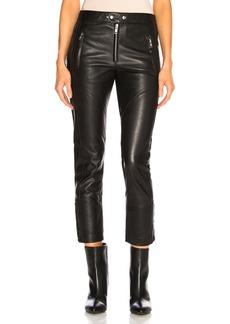 Isabel Marant Etoile Leather Aya Pant