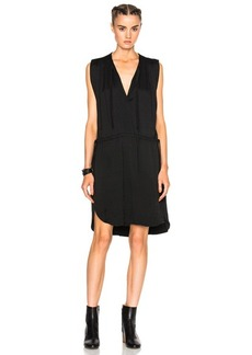 Isabel Marant Etoile Nicky Heavy Crepe Dress