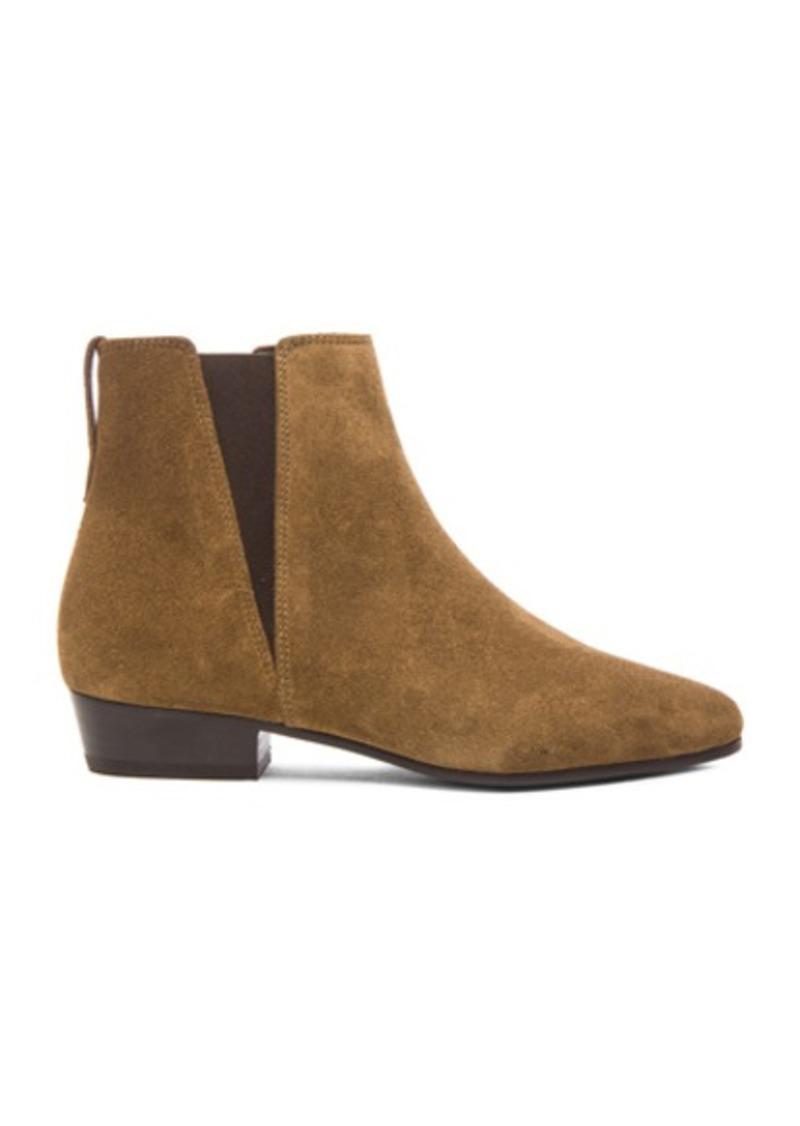 Isabel Marant Etoile Patsha Calfskin Velvet Boots