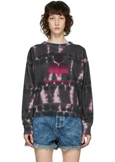 Isabel Marant Etoile Purple Tie-Dye Mobyli Sweatshirt