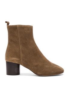 Isabel Marant Etoile Suede Deyissa Summer Velvet Boots