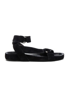 Isabel Marant Etoile Suede Loatis Easy Chic Sandals