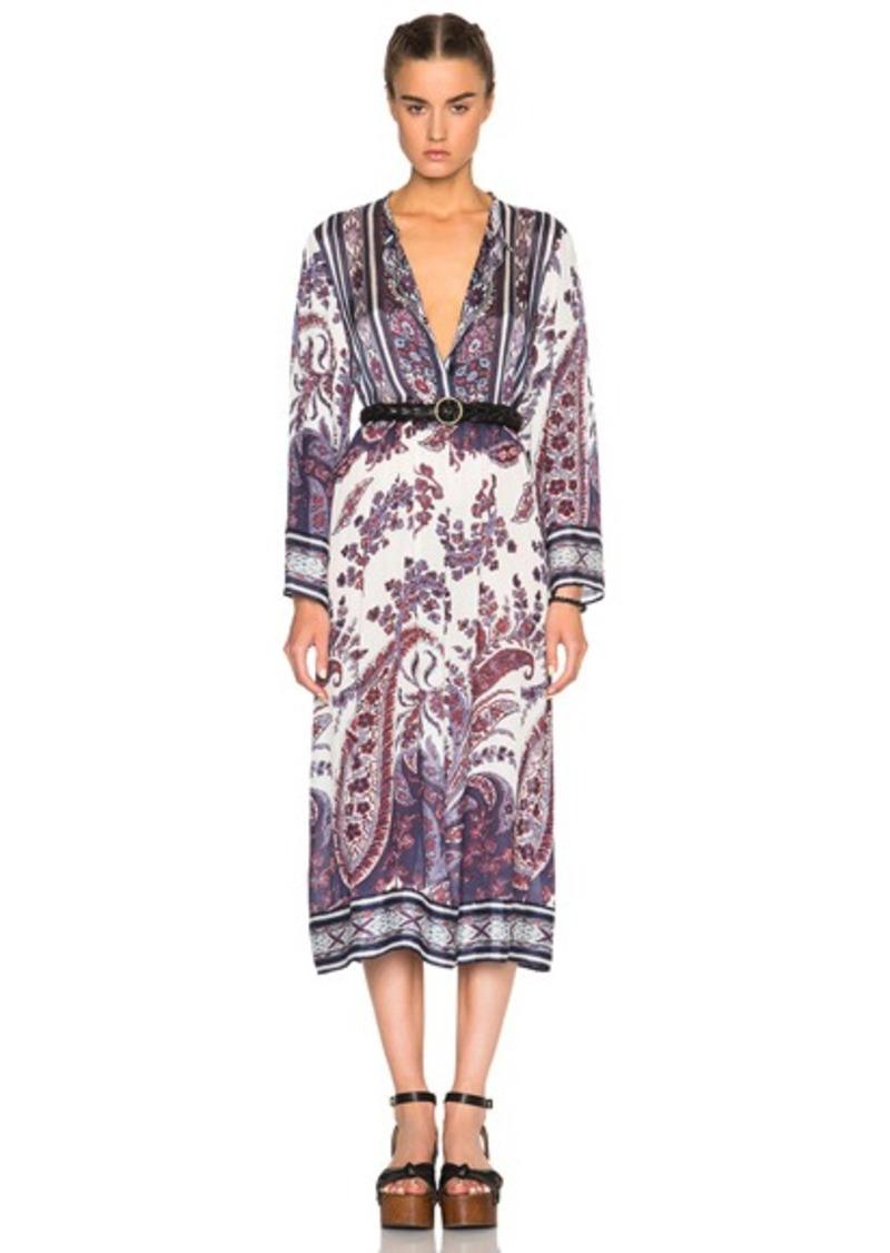 Isabel Marant Etoile Tilda Paisley Print Dress